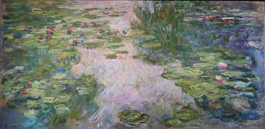 Claude_Monet Water_Lilies,_1917-1919