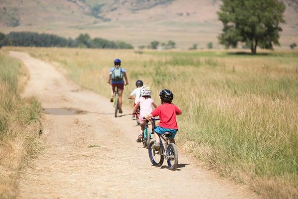 kids learn to bike camp