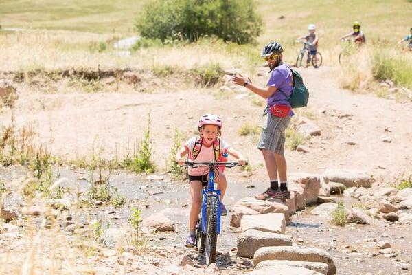 kids mountain biking summer camp