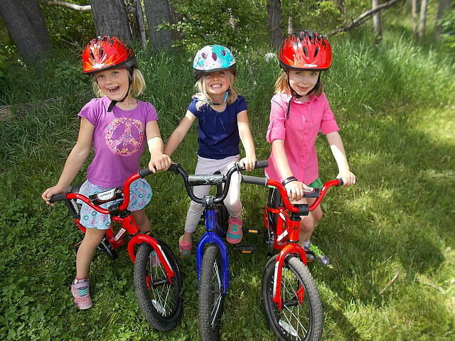 mountain biking kids summer camp