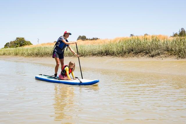 outdoor recreation paddling kids
