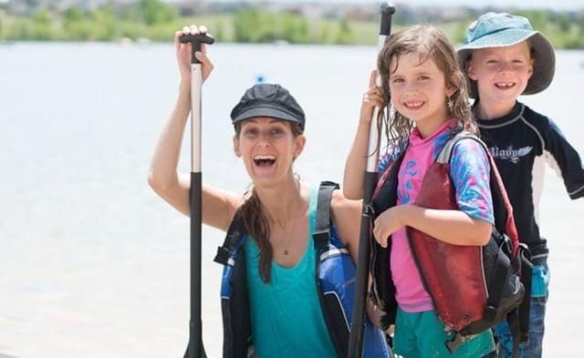 family outdoor recreation