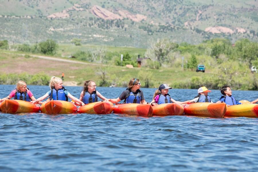 kayaking summer camp colorado