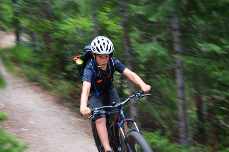 mountain biking summer camp