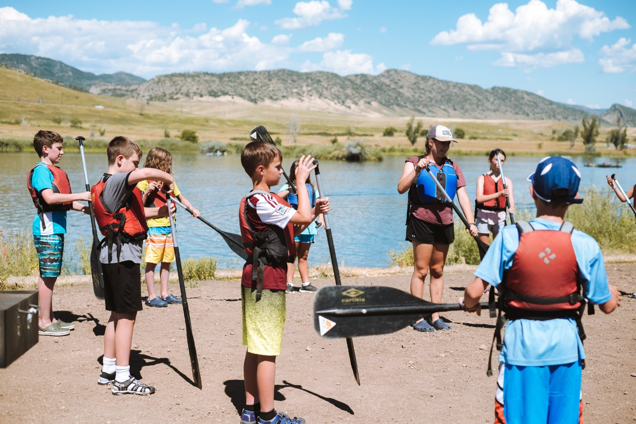 water sports summer camp in colorado