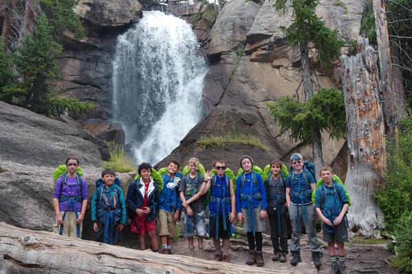 backpacking expedition public lands