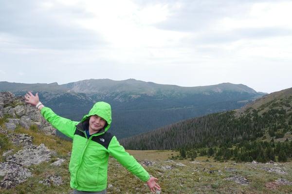 Hiking on public lands