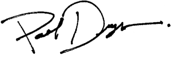 Paul Dryer Signature